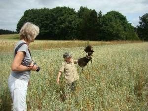 Jens og farmor